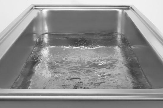 La vasca dove gli alimenti vengono maturati.